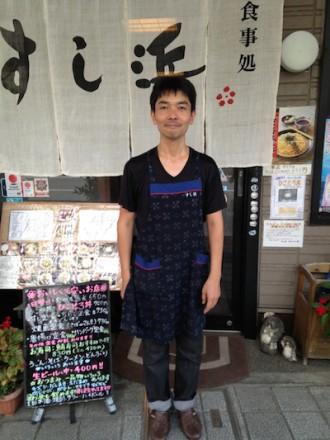 すし浜店主 のコピー